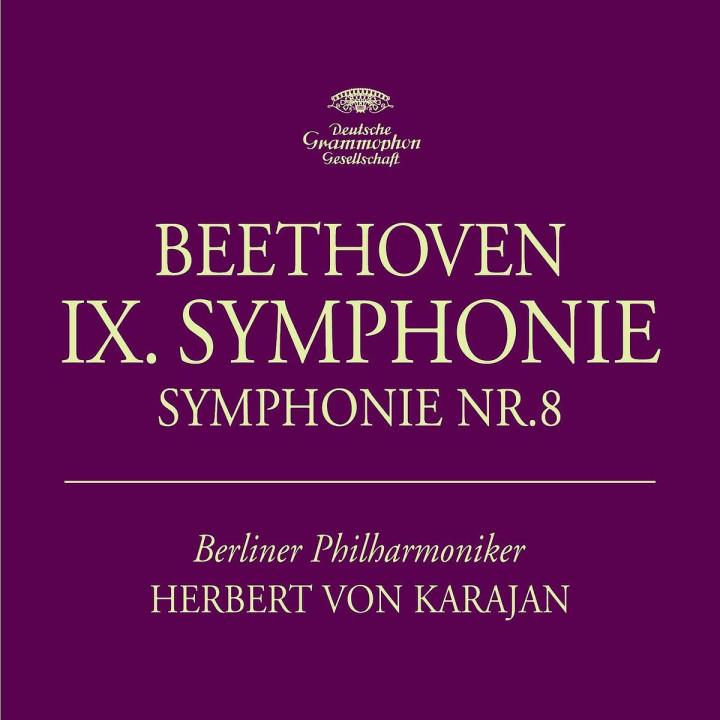 Deluxe Edition Herbert von Karajan - Beethoven: Symphonies Nos. 8 & 9; Rehearsal Symphony No.9
