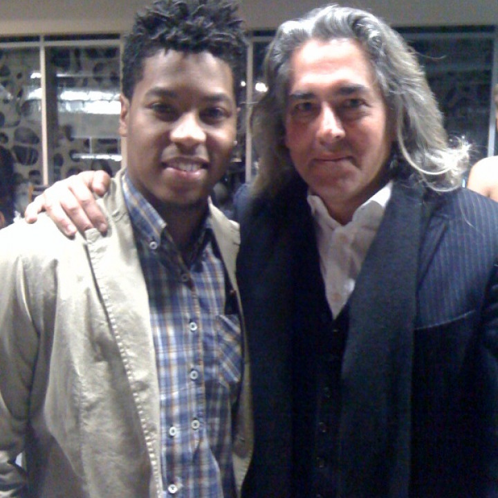 Christian Scott with Mitch Glazer