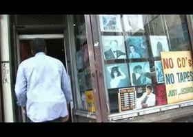 Christian Scott, Christian Scott shares his influences in a vinyl record store