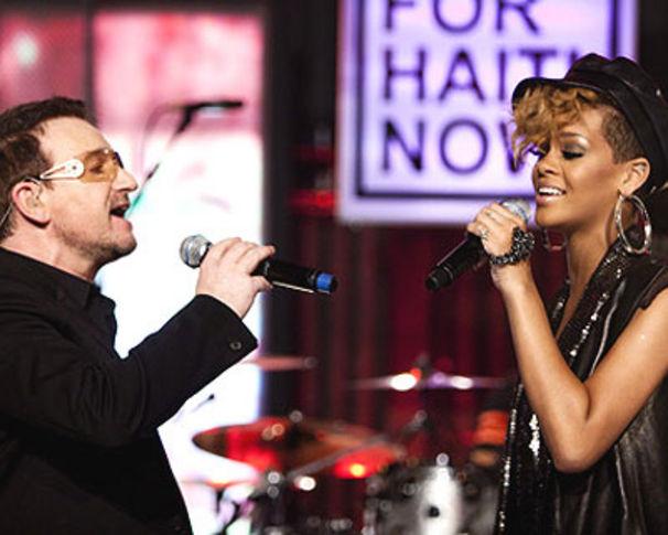 Rihanna, Rihanna über ihre Kollabo mit Jay-Z und U2
