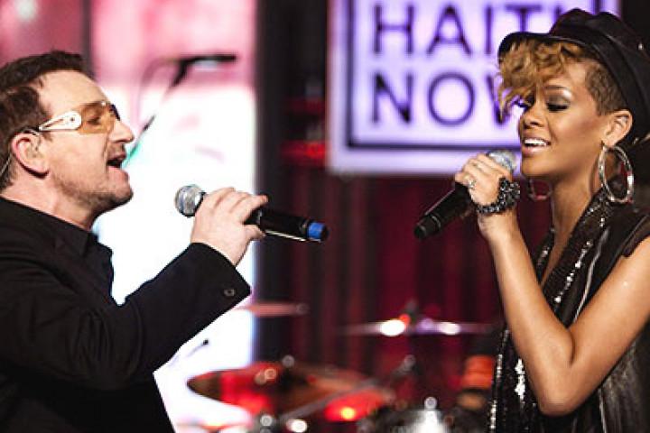 Rihanna & Bono