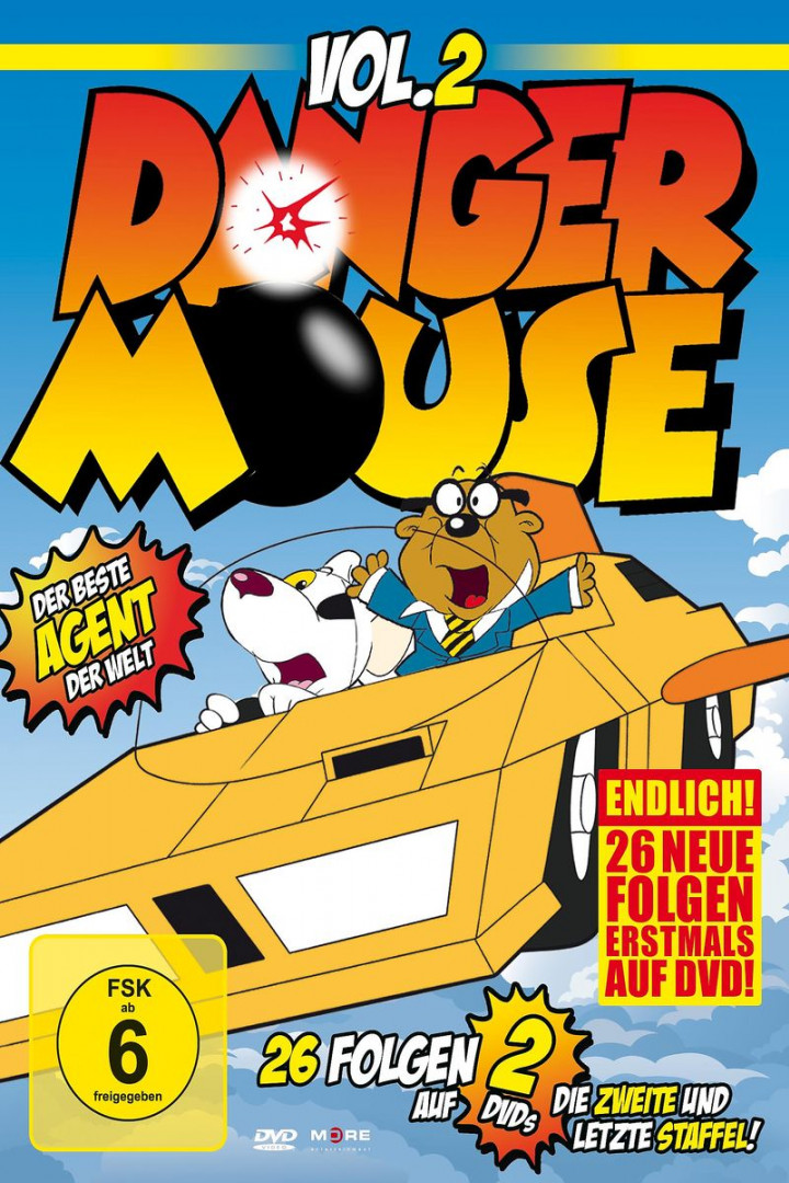 Danger Mouse Vol.2 - die 2.Staffel (2-DVD-Box): Danger Mouse