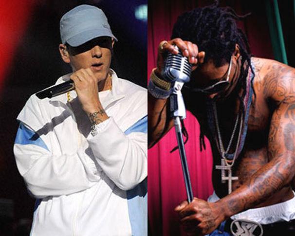 Eminem, Eminem & Lil Wayne & Co übernehmen die Grammys