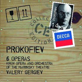 Valery Gergiev, Prokofiev: Operas, 00028947823155
