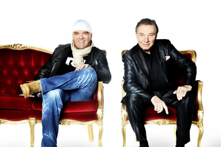 Karel Gott und DJ Ötzi fang das Licht