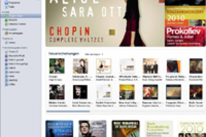 Alice Sara Ott in den iTunes Charts