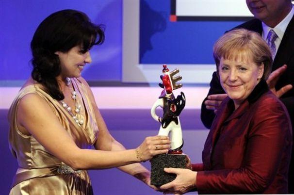 Anna Netrebko, Anna Netrebko singt für Angela Merkel in Baden-Baden