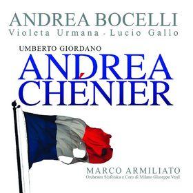 Andrea Bocelli, Giordano: Andrea Chénier, 00028947823827