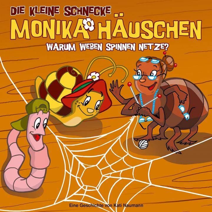 09: Warum weben Spinnen Netze?: Die kleine Schnecke Monika Häuschen