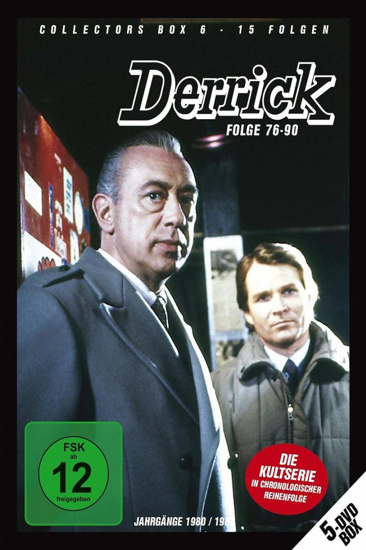 Derrick Collector's Box Vol. 6 (5 DVD / Ep. 76-90): Derrick
