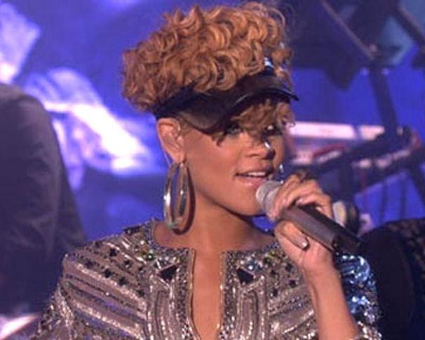 Rihanna, Rihanna live in der Ellen DeGeneres Show