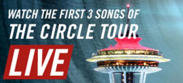 Bon Jovi, Bon Jovi The Circle Welttournee-Auftakt Live!