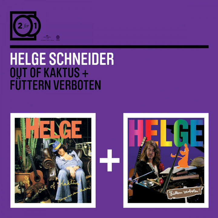 2for1: Out of Kaktus / Füttern verboten: Schneider,Helge