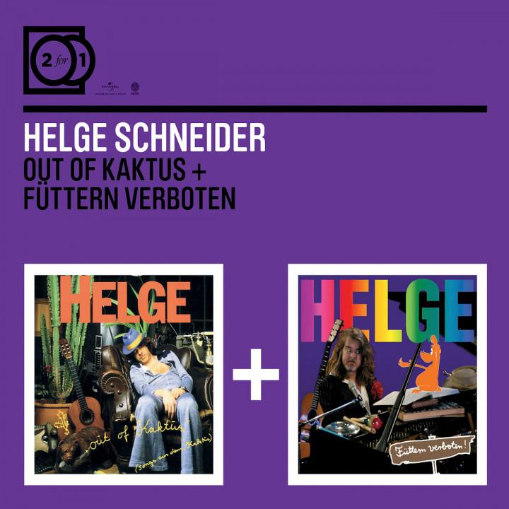 2for1: Out of Kaktus / Füttern verboten: Schneider,Helge