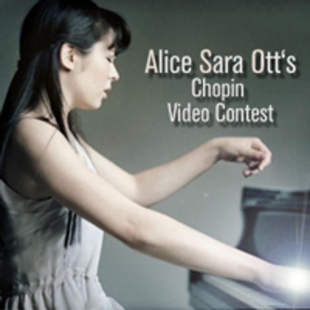 Alice Sara Ott, Alice Sara Ott und Deutsche Grammophon laden auf Facebook zum Chopin Video Wettbewerb