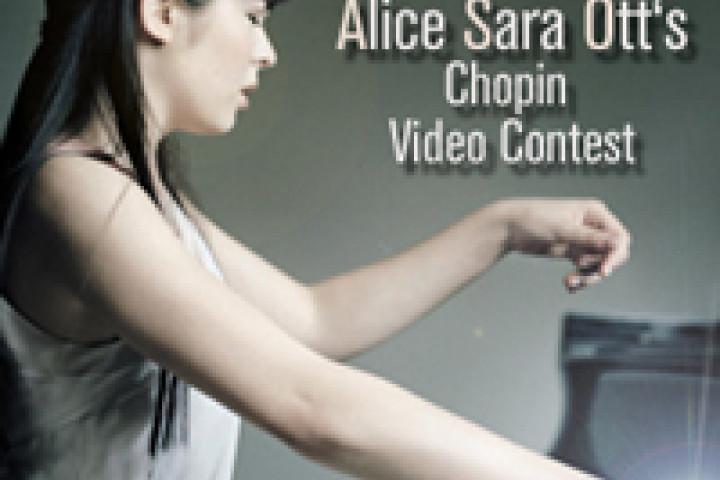 Alice Sara Ott lädt zum Video Contest auf Facebook ein