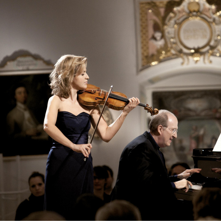 Anne-Sophie Mutter — Brahms