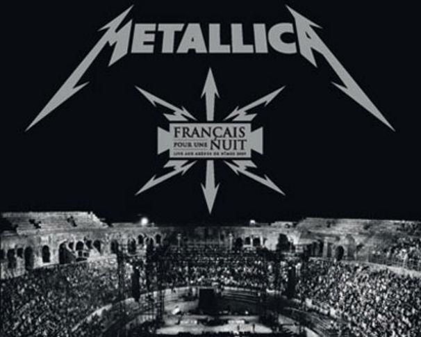 Metallica, Neue Live DVD von Metallica: Francais Pour Une Nuit