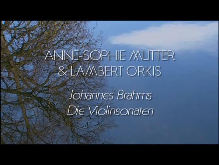 Brahms - Die Violinsonaten - Albumdokumentation