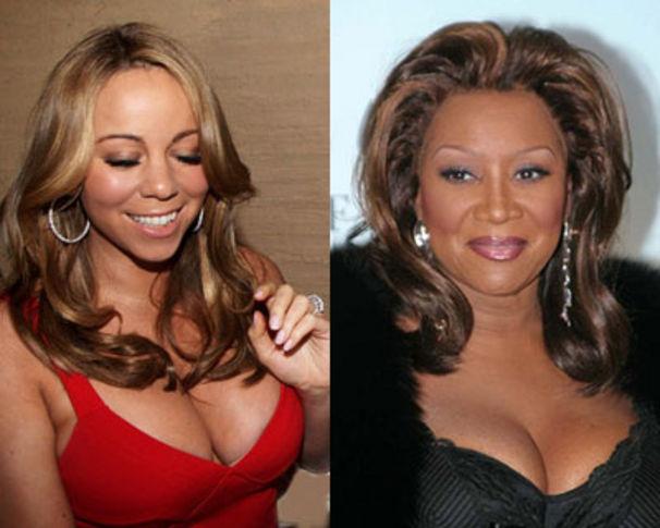 Mariah Carey, Patti LaBelle über ihr Patenkind Mariah Carey