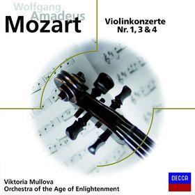 Audior, Mozart: Violinkonzerte 1,3,4, 00028948035304