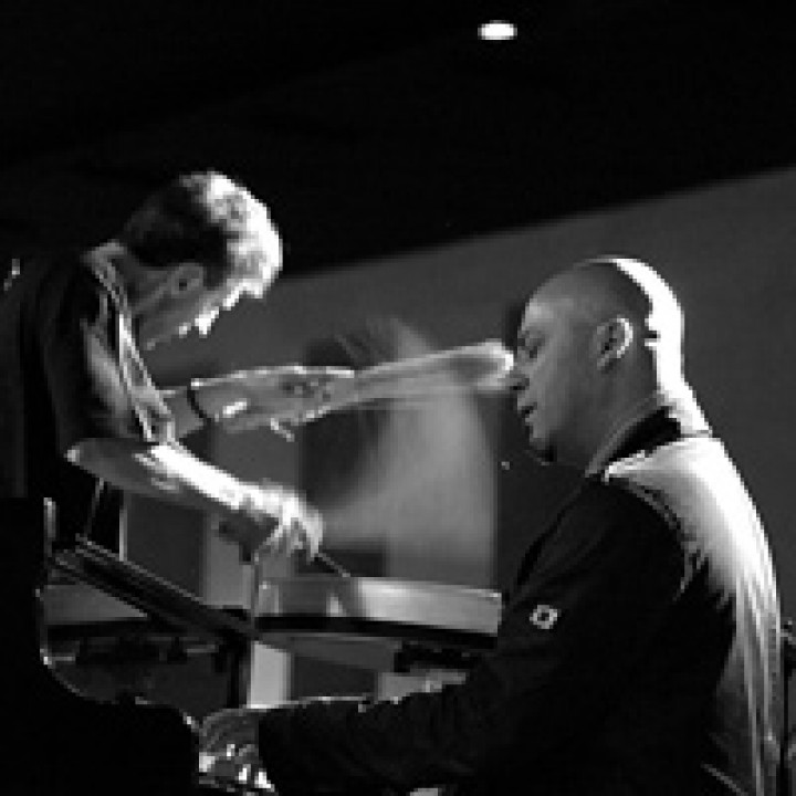 Michele Rabbia & Stefano Battaglia © Robert Cifarelli / ECM Records