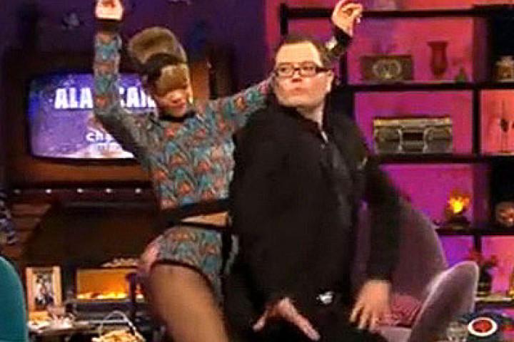 Rihanna & Alan Carr