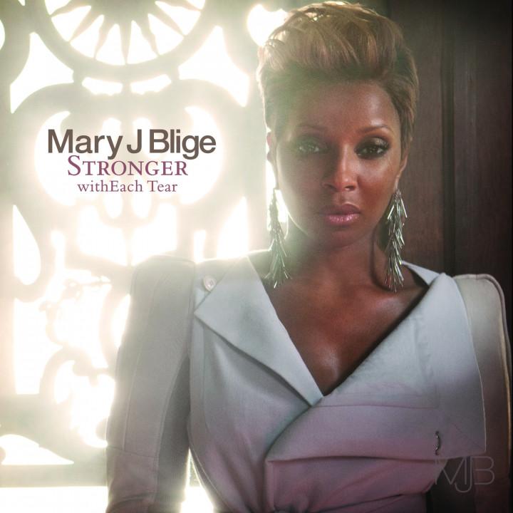 Mary J. Blige Stronger Cover 2010