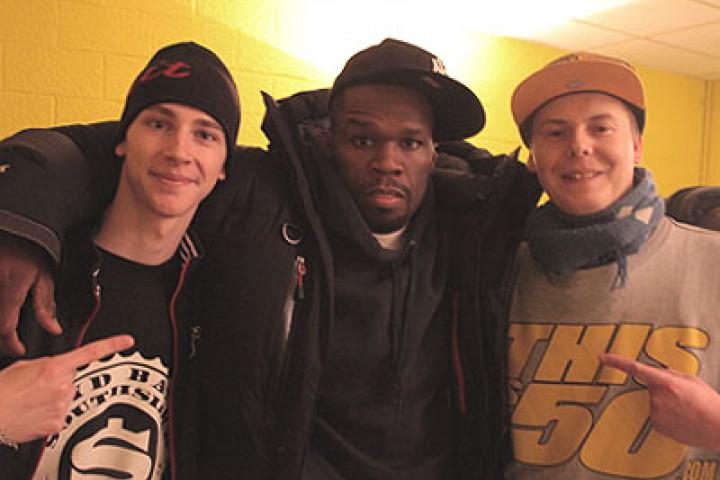 50 Cent & Fans