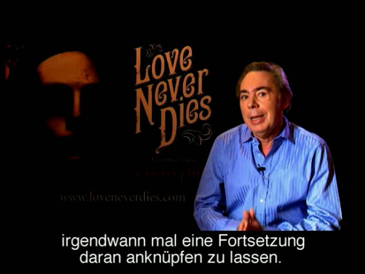 Love Never Dies - Andrew Lloyd Webber On Concept dt. Untertitel