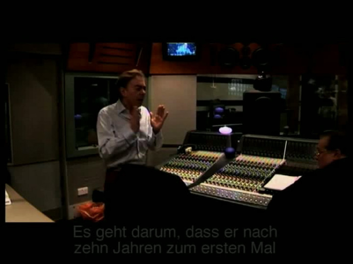 Love Never Dies - In The Studio dt. Untertitel