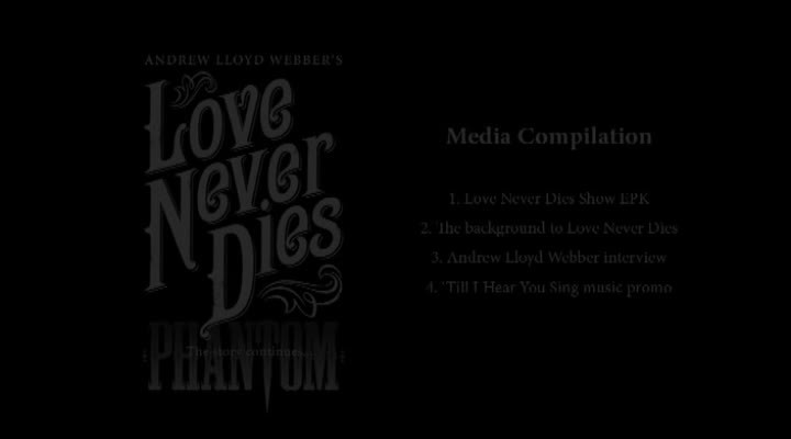 Love Never Dies International EPK March 2010