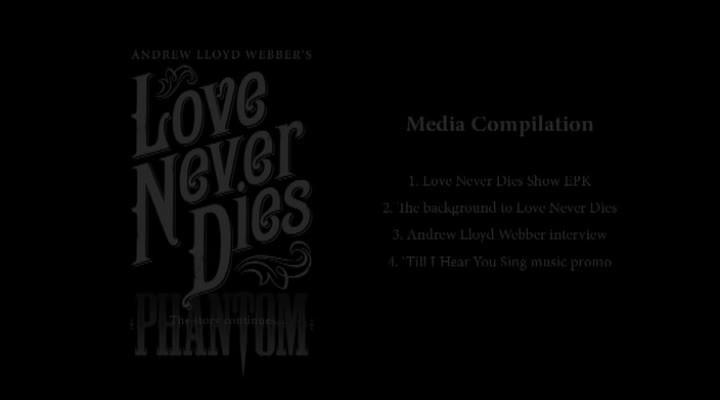 Love Never Dies International EPK March 2010