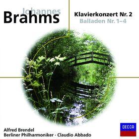 eloquence, Brahms Klavierkonzert Nr. 2 + 4 Balladen, 00028948035168