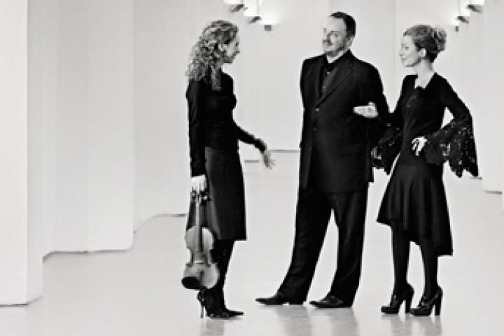 Hilary Hahn, Matthias Goerne und Christine Schäfer ©Olaf Heine