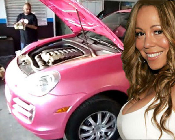Mariah Carey, Nick kauft Mariah 'nen rosa Porsche zum 40sten!
