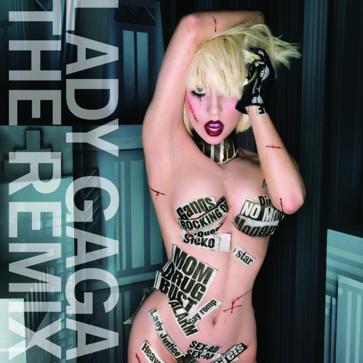 Lady Gaga The Remix Cover 2010