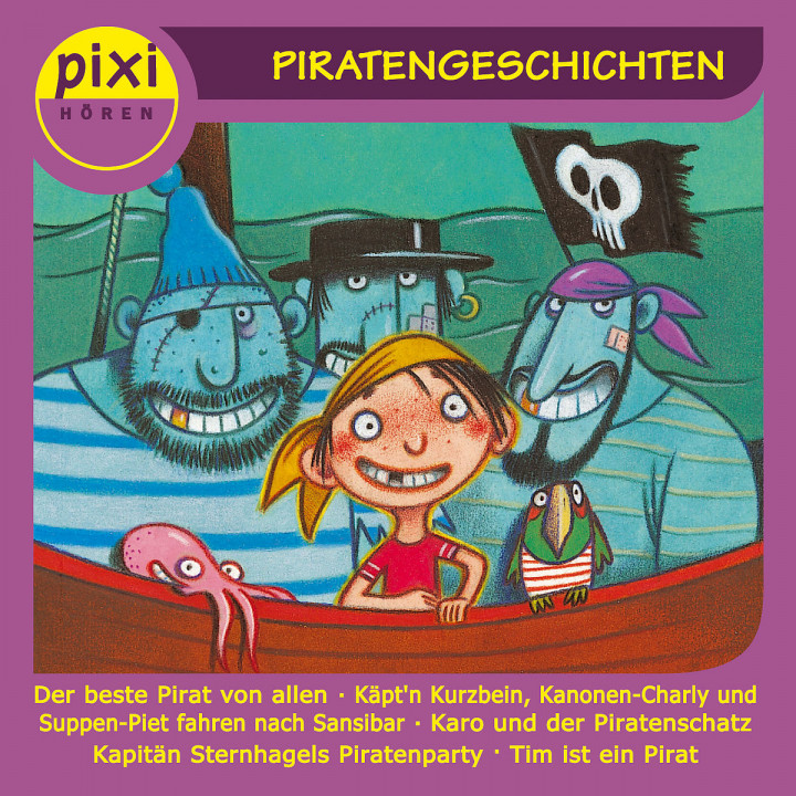 Pixi Hören: Piratengeschichten: Pixi Hören
