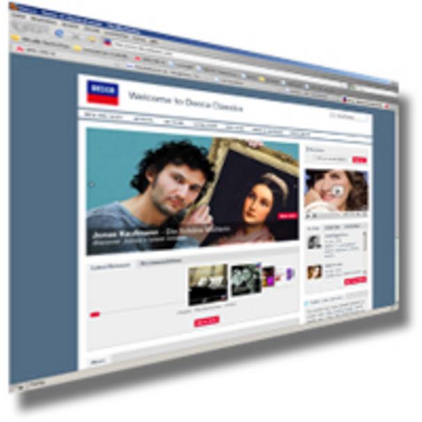 Decca Classics launcht neue Website