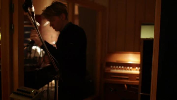 "Johnossi in studio making the album: ""Mavericks""/ ""Roscoe"""