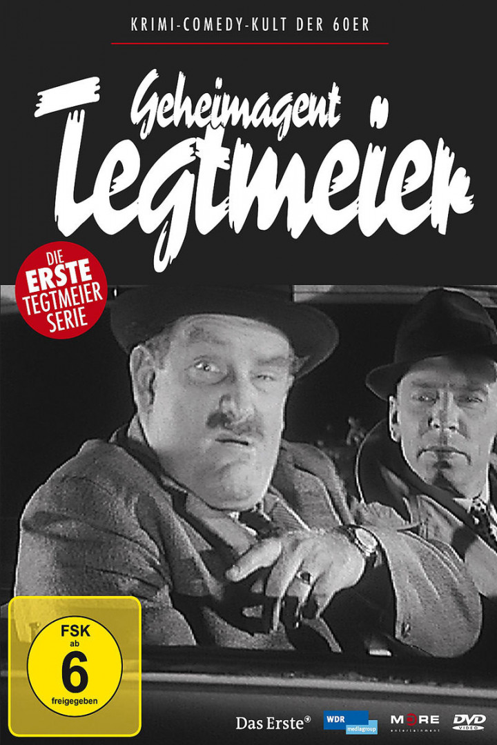 Geheimagent Tegtmeier - die komplette Serie: Manger,Jürgen von