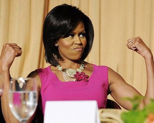 Rihanna, Michelle Obama outet sich als Rihanna Fan