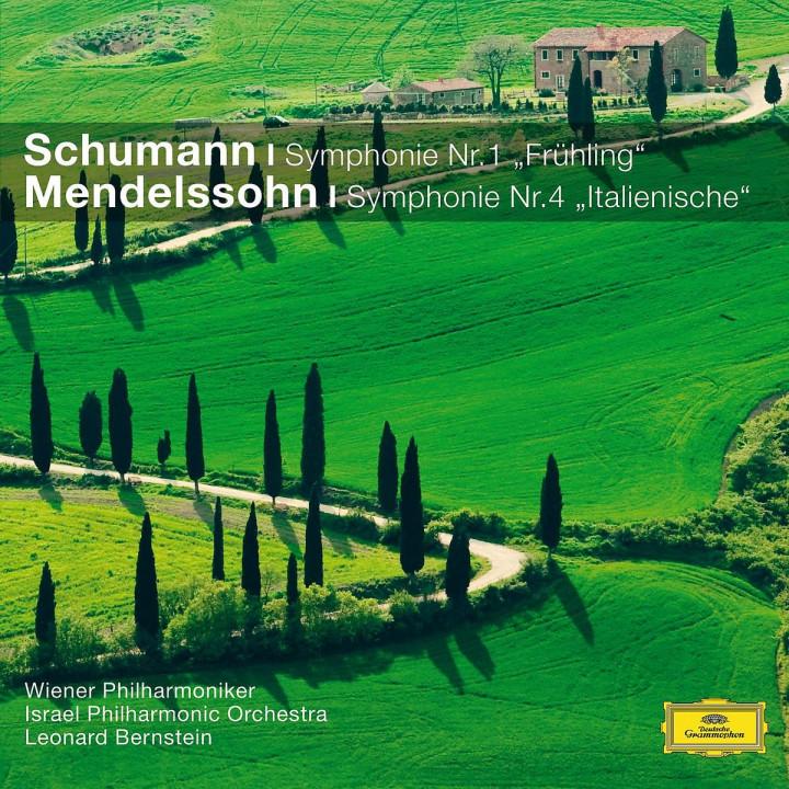 Sinfonie Nr.1/Sinfonie Nr.4 (CC): Bernstein/WP/IPO