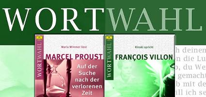 Wortwahl, Zwei neue Wortwahl-Highlights: Kinski und Proust
