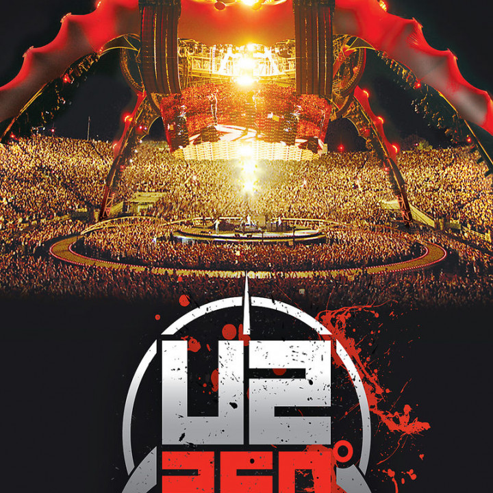 360 Degrees Tour  (BluRay): U2