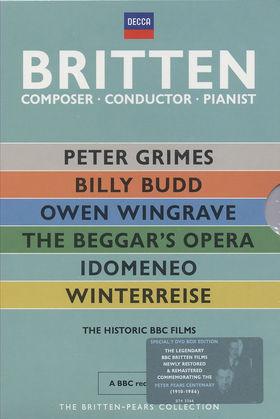Benjamin Britten, Britten - Composer, Conductor, Pianist, 00044007433669