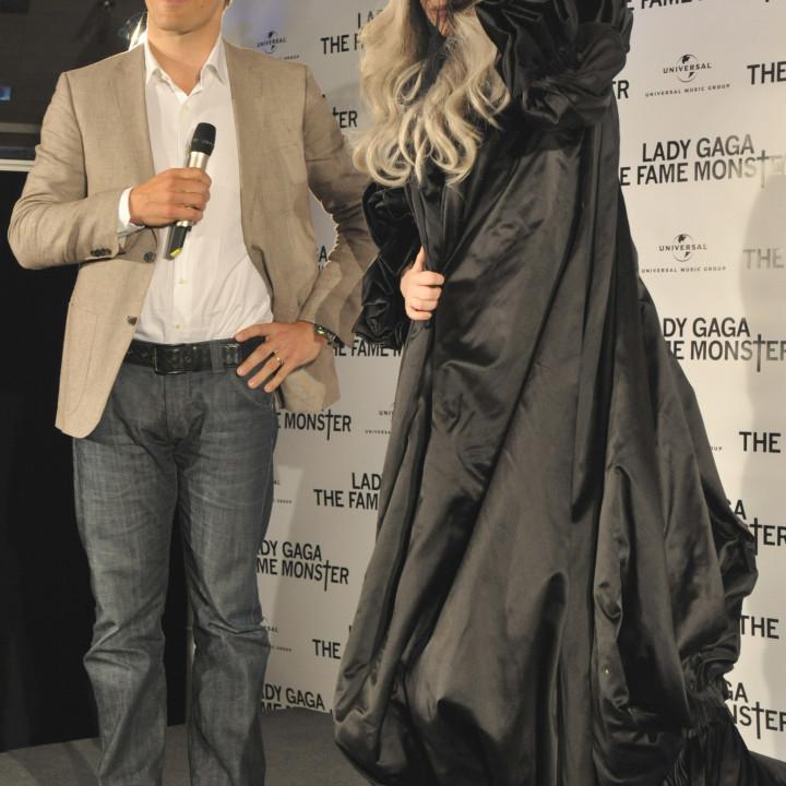 Lady GaGa Platinverleihung 01