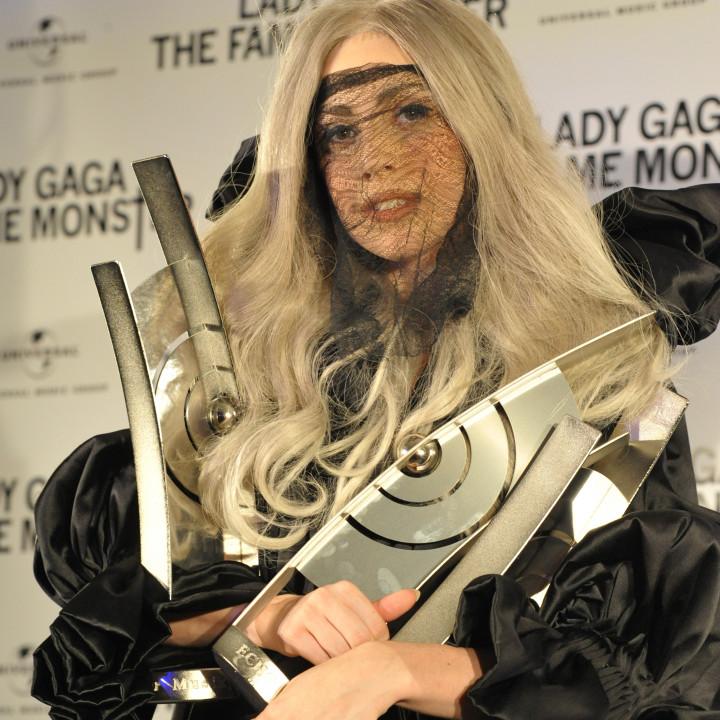 Lady GaGa Platinverleihung 06