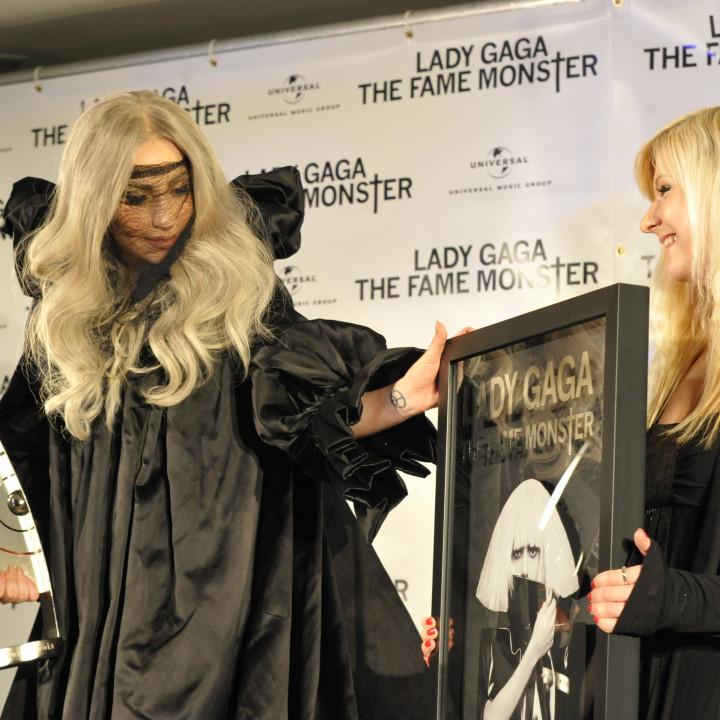 Lady GaGa Platinverleihung 07