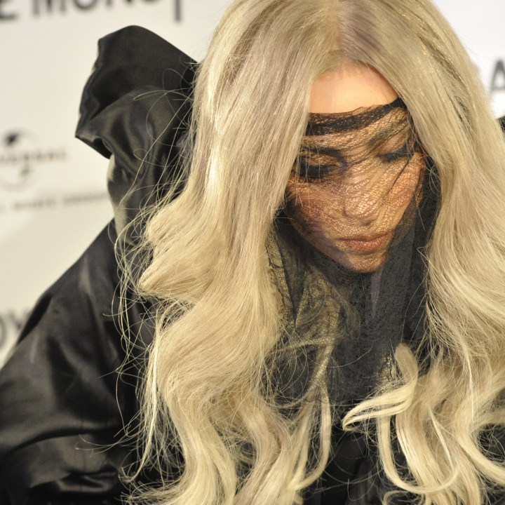 Lady GaGa Platinverleihung 09